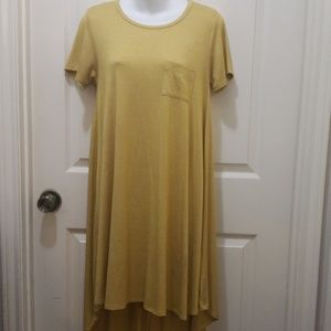 LuLaRoe MUSTARD DRESS